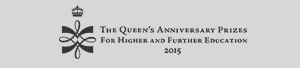 Queens aniversary prize logo